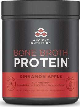 Ancient Nutrition Bone Broth Protein Cinnamon Apple 20 Servings