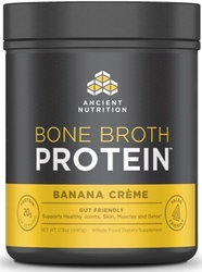 Ancient Nutrition Bone Broth Protein Banana Creme 20 Servings