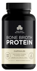 Ancient Nutrition Bone Broth Protein  180 Capsules