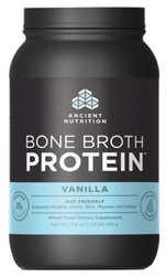 Ancient Nutrition Bone Broth Protein Vanilla 40 Servings
