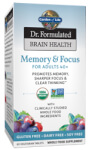 Dr Formulated Brain Health Memory and Focus for Adults 40 Plus