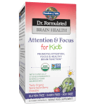 Dr Formulated Brain Health Memory and Focus for Kids